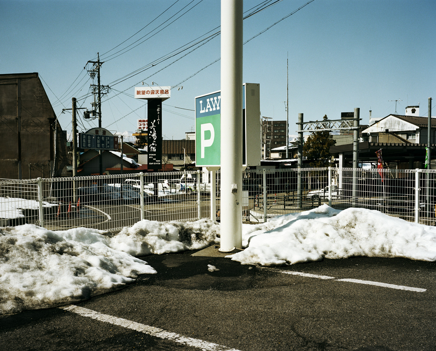 Lawson Parking Lot | Yudanaka