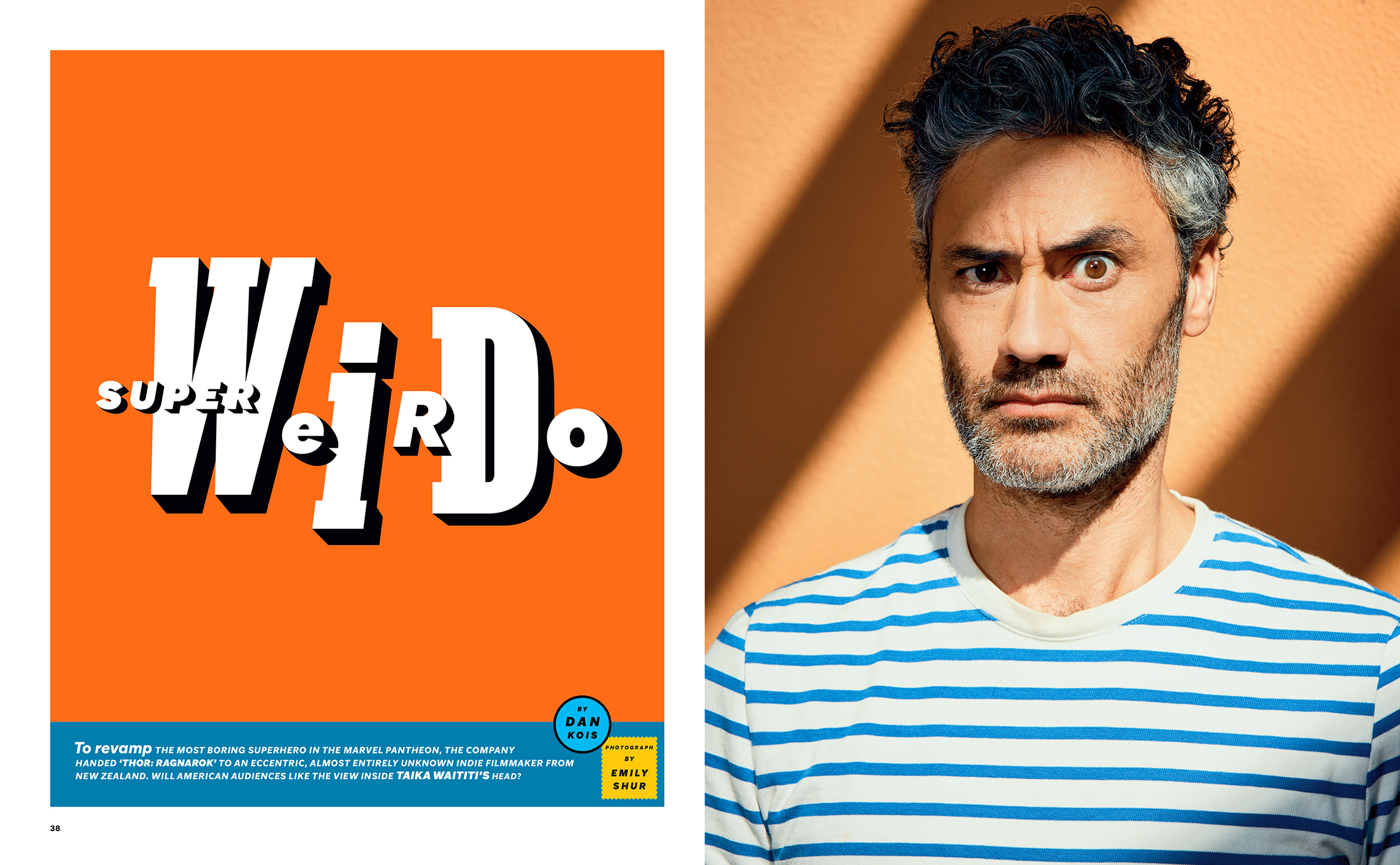 Taika Waititi | The New York Times Magazine