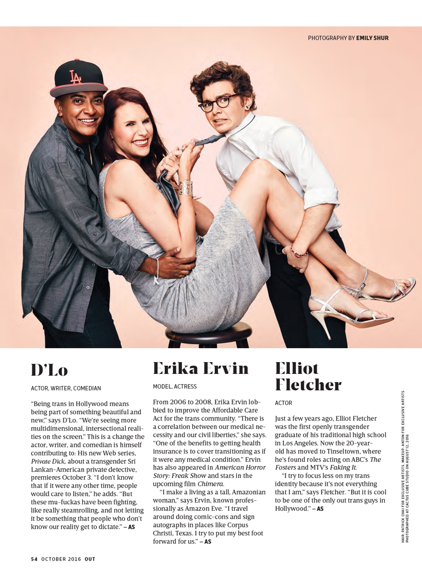 Trans Hollywood | Out Magazine