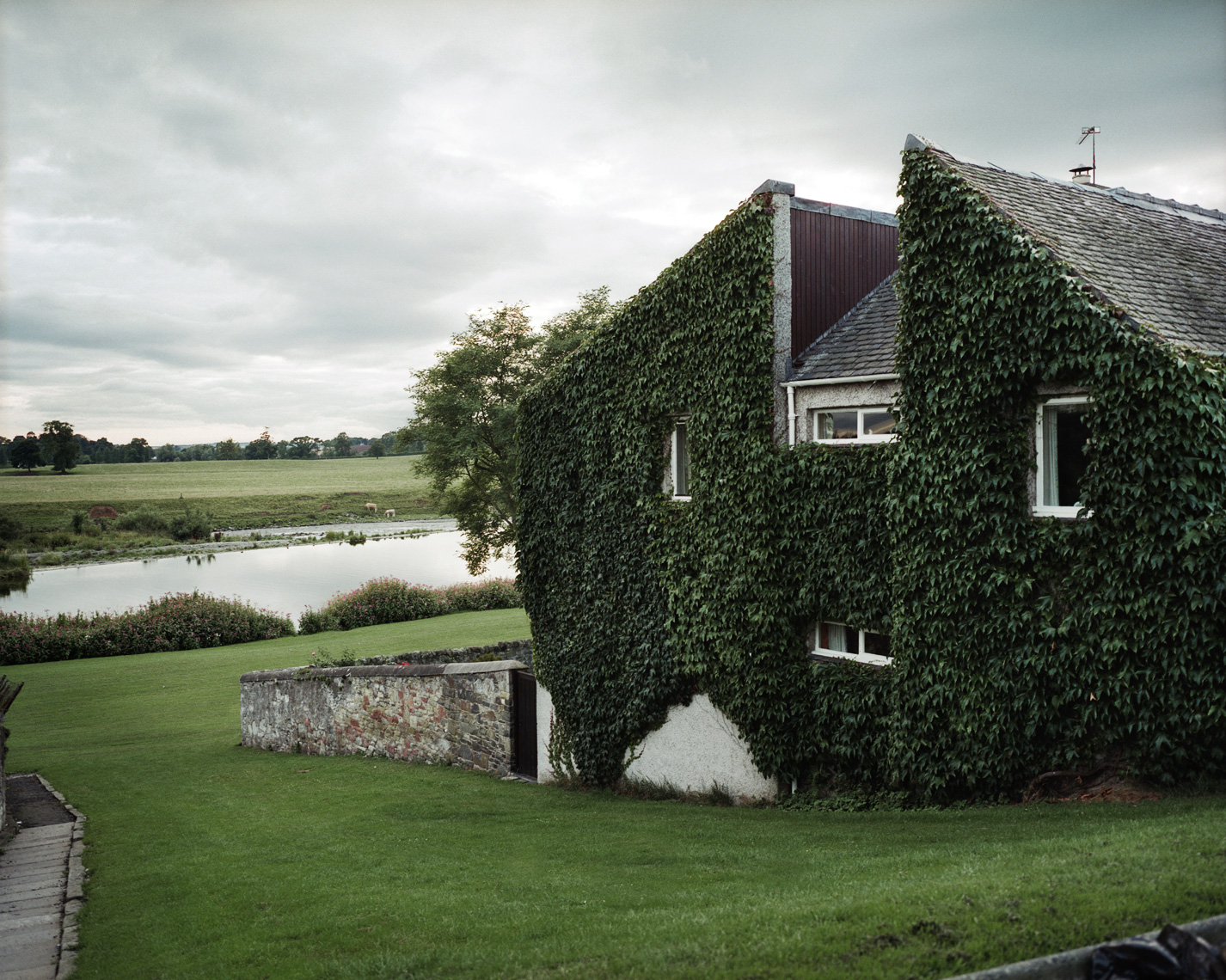 Ivy Covered House | Scottish Borders